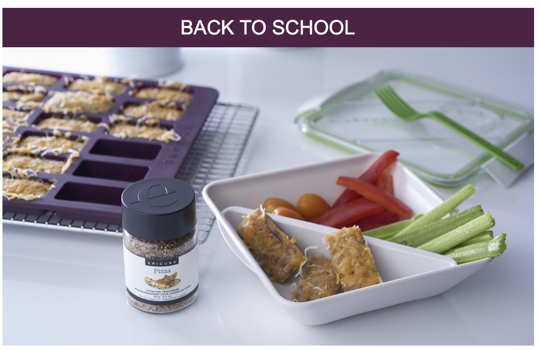 Back to school with Epicure Cooking Solutions with Leanne Penney